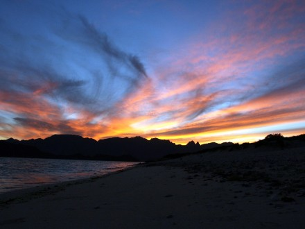 Baja California Sur-Sea of Cortez, Sunset-credit John Barnes